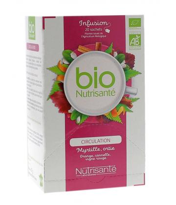 Nutrisanté Bio Infusions Jambes Légères x 20