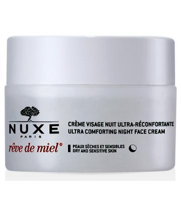 Nuxe Rêve de Miel Crème Visage Jour Ultra-Réconfortante 50 ml Edition Limitée