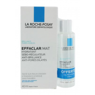 La Roche-Posay Coffret Effaclar Mat 40 ml + Gel Moussant 50 ml OFFERT
