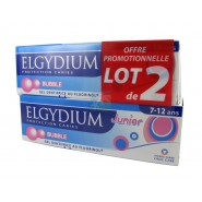 Elgydium Dentifrice Protection Caries Junior Bubble 2 x 50 ml