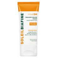 SoleilBiafine Emulsion Solaire Visage SFP30 50 ml