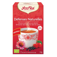 Yogi Tea Défenses Naturelles Infusions x 17