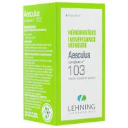 Lehning Complexe n°103 Aesculus 30 ml