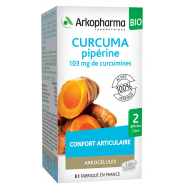 Arkogélules Curcuma Pipérine Bio x 130
