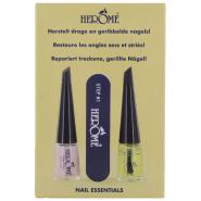 Herôme Nail Essentials Kit Pour Ongles Secs et Striés