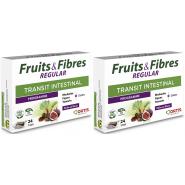 Ortis Fruits & Fibres Regular Cubes à Mâcher 2 x 24