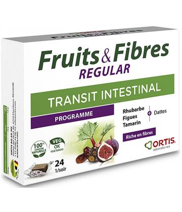 Ortis Fruits & Fibres Regular Cubes à Mâcher x 24