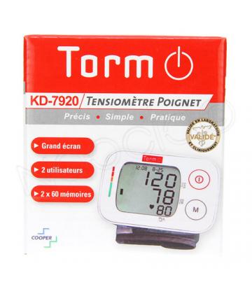 Torm KD-7920 Autotensiomètre Electronique Poignet