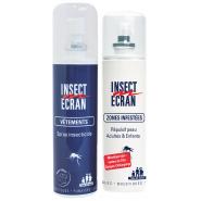 Insect Ecran Spray Zones Infestées 100 ml + Insect Ecran Spray Vêtement 100 ml