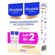 Mustela Crème Nourrissante au Cold Cream Lot de 2 x 40 ml