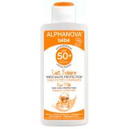 Alphanova Bébé Sun Lait Bio SPF50 125 g