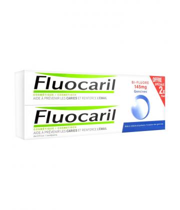Fluocaril Dentifrice Gencives Bi-Fluoré 2 x 75 ml