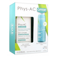 Aderma Phys-Ac Soin Global Anti-Imperfections 40 ml + Gel Moussant Purifiant 100 ml Offert