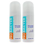 Nobacter Mousse à Raser 2 x 150 ml