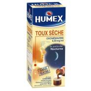 Humex Sirop Toux sèche Oxomémazine Sans sucre 150 ml