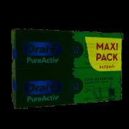 Oral-B Dentifrice PureActiv Soin Essentiel 2 x 75 ml