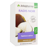 Arkogélules Radis Noir Bio x 130