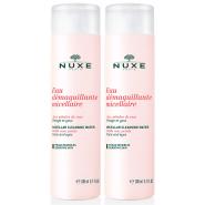 Nuxe Eau Micellaire Démaquillante Aux pétales de Rose 2 x 200 ml