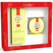 Roger & Gallet Coffret Noël Fleurs d'Osmanthus 100 ml + Savon Parfumé Offert
