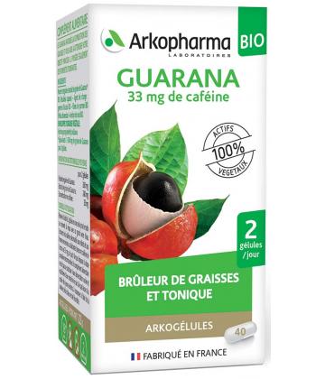 Arkogélules Guarana Bio x 45
