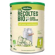 Blédina Les Récoltes Bio Lait 1er Âge 800 g
