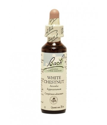 Fleurs de Bach White Chestnut Gouttes 20 ml