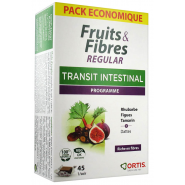 Ortis Fruits & Fibres Regular Cubes à Mâcher x 45