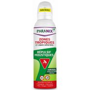 Paranix Répulsif Moustiques Zone Tropiques et Infestées 125 ml