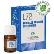 Lehning n°72 Troubles du Sommeil 30 ml