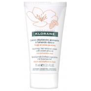 Klorane Crème Dépilatoire Apaisante à l'Amande Douce 75 ml