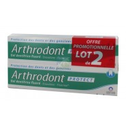Arthrodont Protect Gel Dentifrice Fluoré 2 x 75 ml