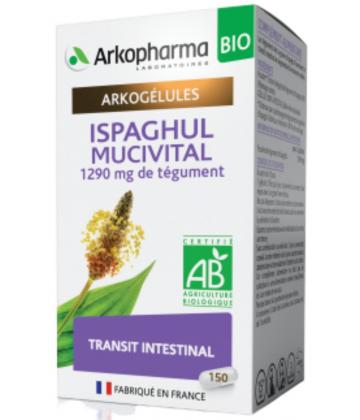 Arkogélules Ispaghul Mucivital Bio x 150