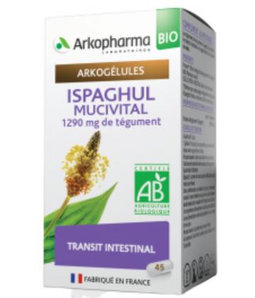 Arkogélules Ispaghul Mucivital Bio x 45