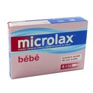 Microlax Bébé x 4