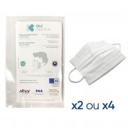 Masques-barrière en tissu lavables 15 fois