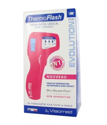 ThermoFlash LX26 Evolution Thermomètre Sans Contact Rose