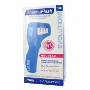 ThermoFlash LX26 Evolution Thermomètre Sans Contact Bleu Clair