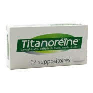 Titanoréïne Suppositoires x 12