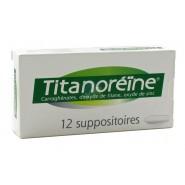 Titanoréïne Suppositoires x 12