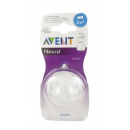 Philips AVENT Tétines Natural 3m+ x 2
