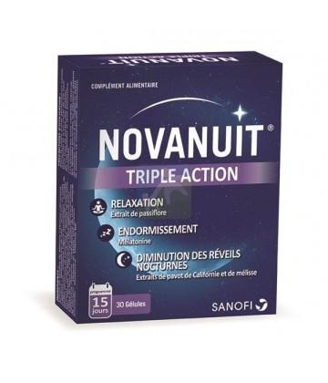 NovaNuit Sommeil Triple Action x 30