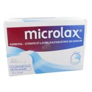 Microlax Adulte x 12