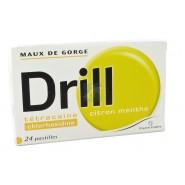 Drill Pastilles Citron Menthe x 24
