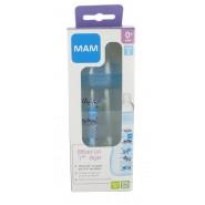MAM Biberon Bleu 1er Âge Débit 2 270 ml