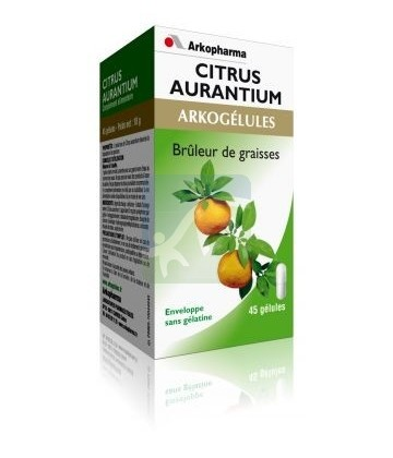 ARKOGELULES, Citrus Aurantium - 45 comprimés