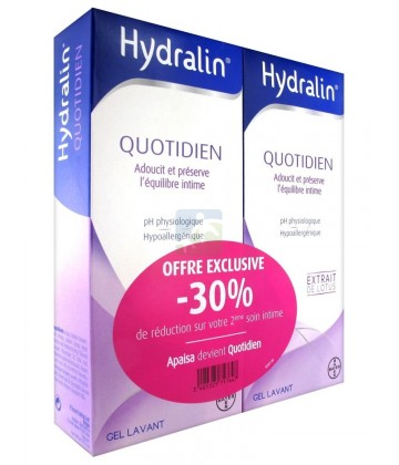 Hydralin Quotidien 2 x 400 ml