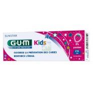GUM Dentifrice Kids Goût Fraise 2-6 ans 50 ml