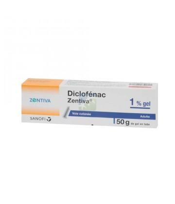 Diclofénac 1% Zentiva Gel 50 g