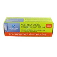 Acétylcystéïne Biogaran 200 mg Comprimés Effervescents x 20