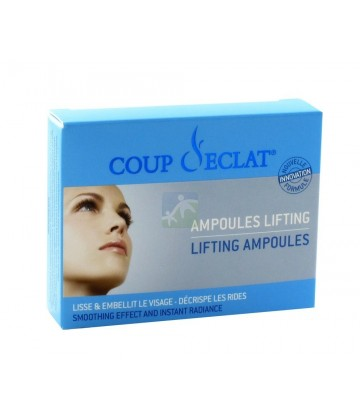 Coup d 39 eclat ampoules lifting 3 x 1 ml pas cher anti ge - Coup d eclat ampoule lifting ...